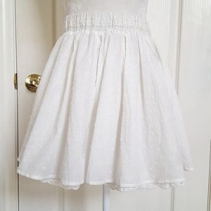Japanese cream skirt